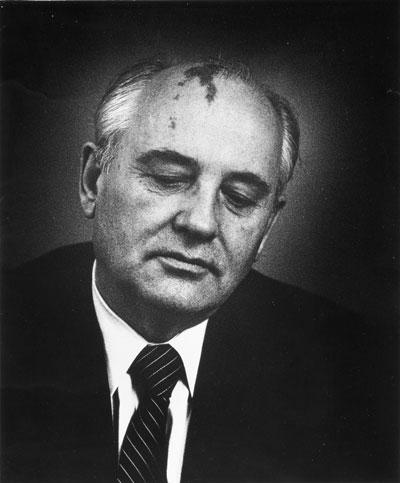Michail Gorbatschow - Fotografin Ingrid von Kruse